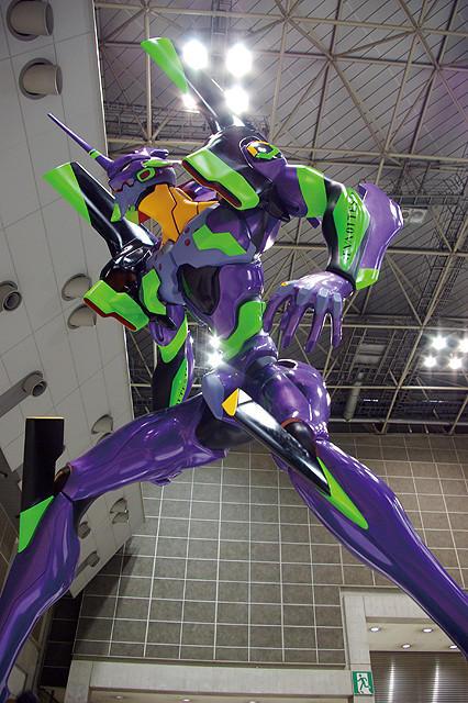エヴァ初号機が地方巡回 12月、東京スカイツリータウンにEVA神社も建立