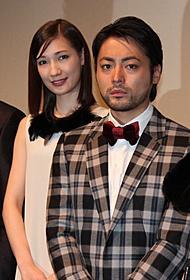 「ミロクローゼ」初日挨拶に 立った山田孝之とマイコ「ミロクローゼ」