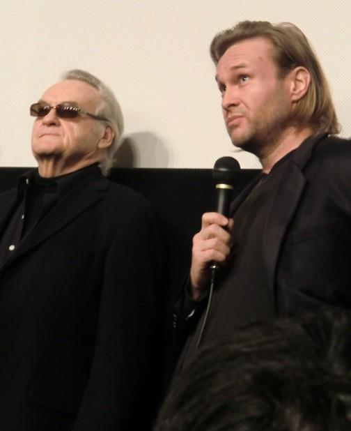 イエジー・スコリモフスキ監督と息子のミハウ