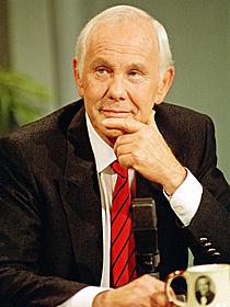アカデミー賞授賞式の司会を5度も 務めたジョニー・カーソン「ブラック・スワン」