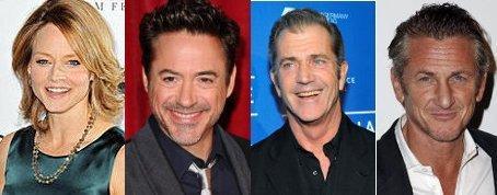 """ジョディ・フォスター&ハリウッドの""""バッドボーイズ""""がチャリティポーカーに集結"""