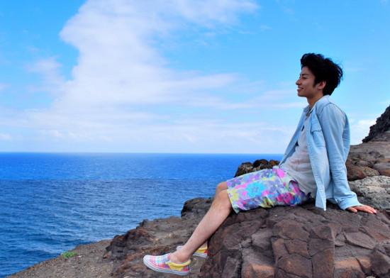 ハワイを旅した武田航平