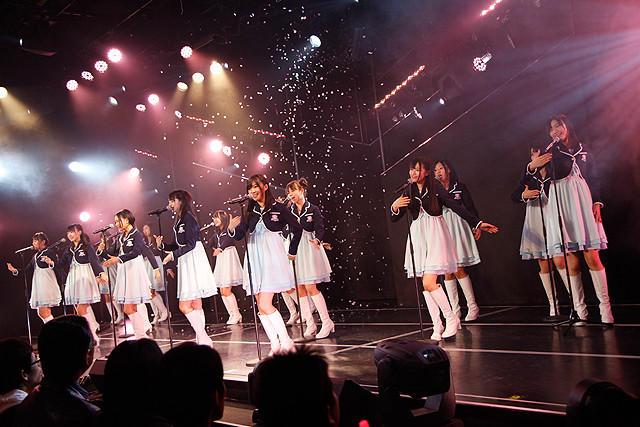 HKT48、劇場1周年公演で感激の涙 新曲「初恋バタフライ」も劇場初披露 - 画像5