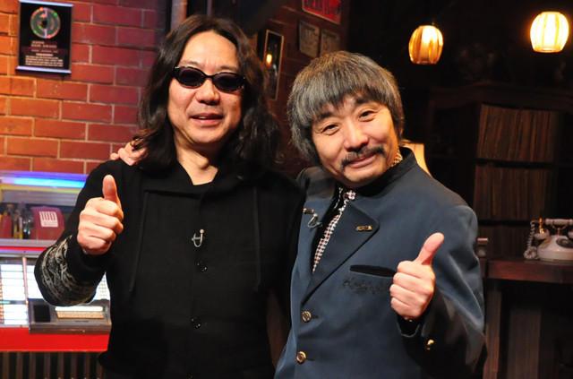 みうらじゅん&安齋肇、NHKで洋楽ビデオをサカナに飲み屋談義?