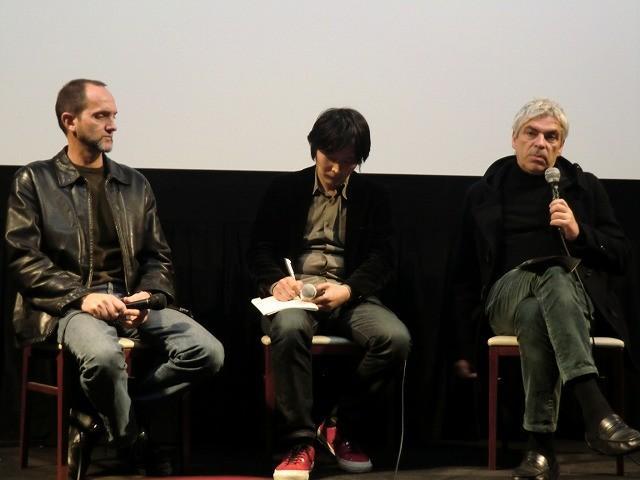ペドロ・コスタ監督が彫刻家ルイ・シャフェスと来日 小津安二郎の「父ありき」を語る