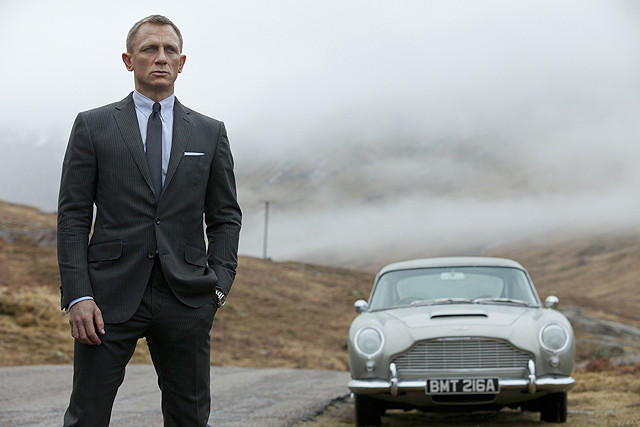 【国内映画ランキング】「007 スカイフォール」が好発進!「イナズマイレブン」が3位