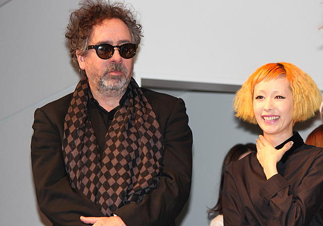 ティム・バートン監督、木村カエラの楽曲絶賛「映画の精神を捉えている」