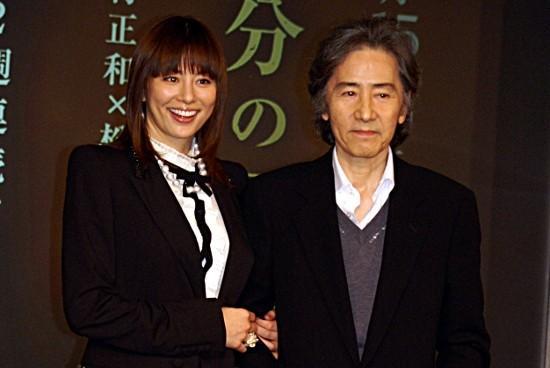 松本清張ドラマに出演する田村正和と米倉涼子