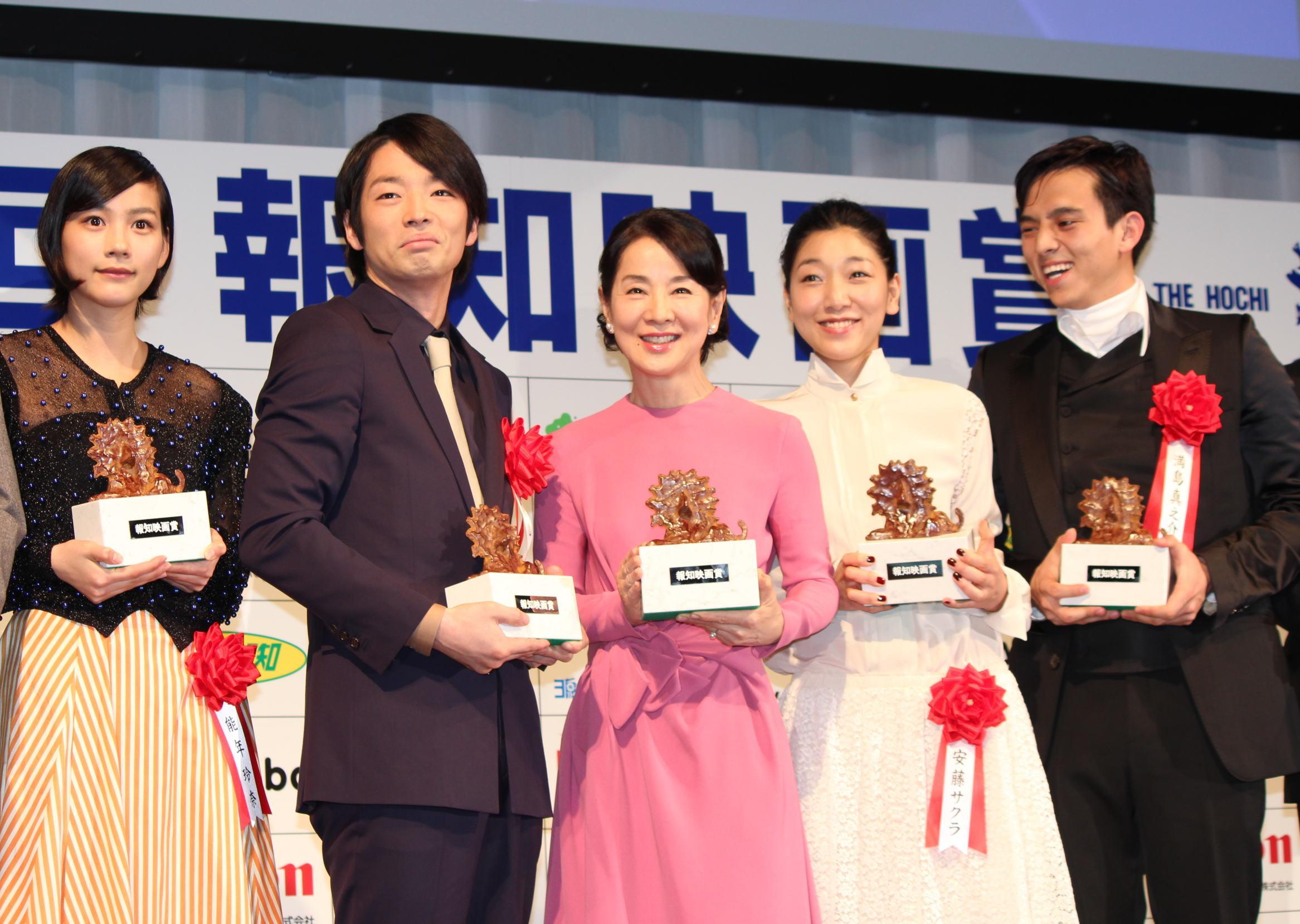 「第37回報知映画賞」主演女優賞の吉永小百合、「次は作品賞!」とさらなる意欲
