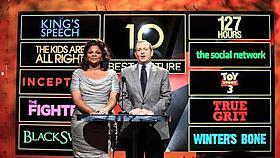 ノミネート発表は2013年1月10日