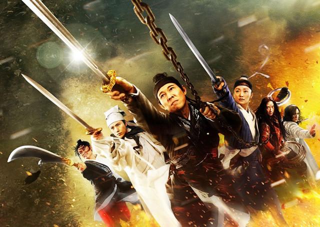 「ドラゴンゲート」ジェット・リーの神ワザ映像が解禁