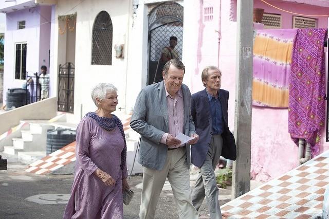 インドの旅は人生を変える!?「マリーゴールド・ホテルで会いましょう」ジュディ・デンチら撮影秘話語る