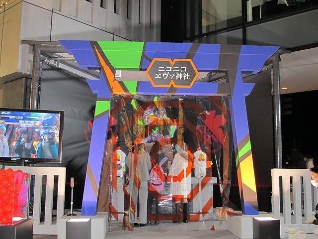 東京スカイツリーに「ヱヴァ神社」建立、鳥居にはA.T.フィールド