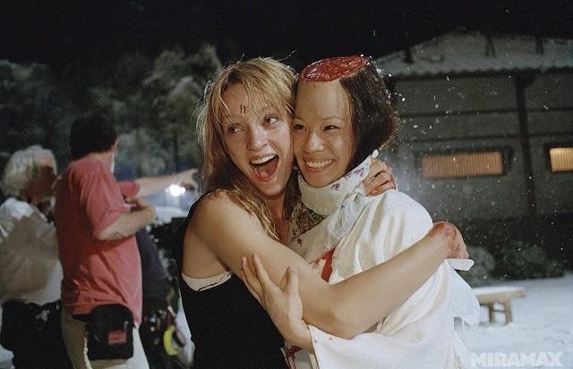 タランティーノファンへのお年玉! 「キル・ビル」血みどろシーンの撮影風景写真を一挙公開