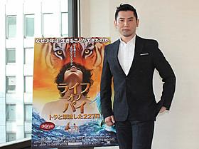 本作で初の実写洋画吹き替えに挑戦した本木雅弘「ライフ・オブ・パイ トラと漂流した227日」
