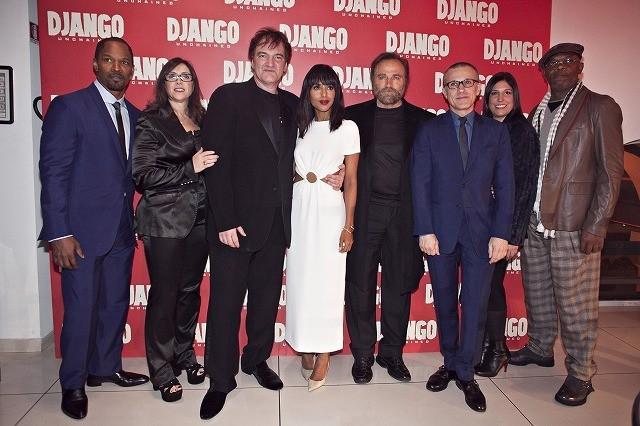オスカー5部門ノミネート タランティーノ、E・モリコーネからのローマ映画祭功労賞授与に感激