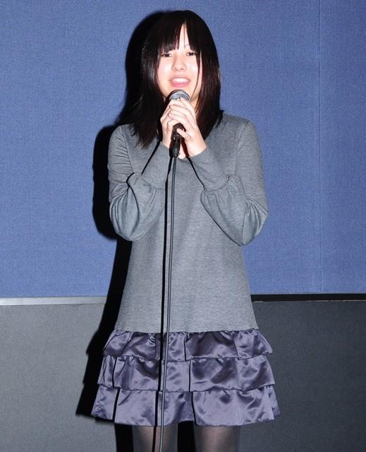 「ももいろそらを」初日挨拶、休業中の主演女優・池田愛が飛び入り参加