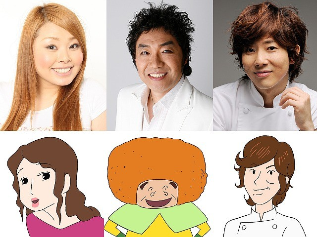 「クレヨンしんちゃん」最新作に声優初挑戦のコロッケ、渡辺直美、川越シェフ
