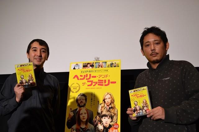 入江悠監督「ヘンリー・アンド・ザ・ファミリー」イベントで黒田勇樹の俳優復帰にエール