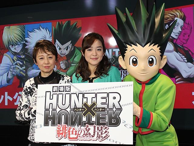 「HUNTER×HUNTER」で声優親子共演、潘めぐみ&潘恵子が感極まって号泣!