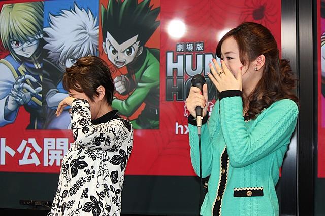 「HUNTER×HUNTER」で声優親子共演、潘めぐみ&潘恵子が感極まって号泣! - 画像2