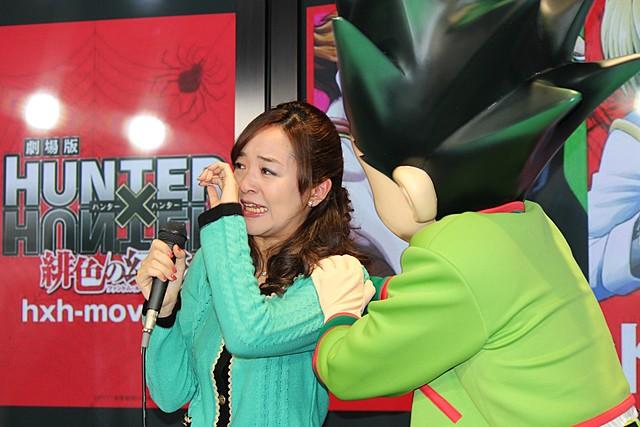 「HUNTER×HUNTER」で声優親子共演、潘めぐみ&潘恵子が感極まって号泣! - 画像3