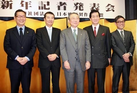 2012年総興収は約1952億円、邦画優位が一層顕著に