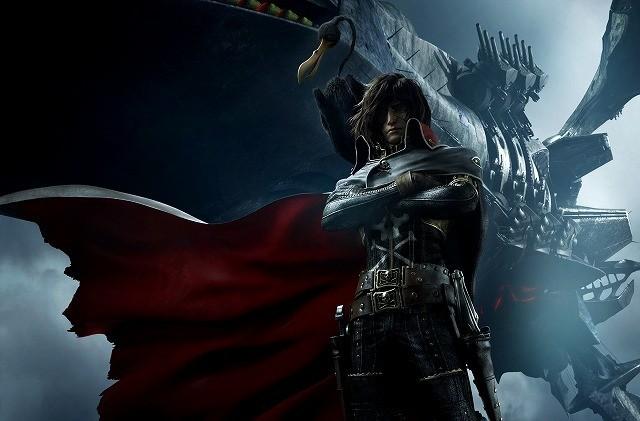 総製作費3000万ドル!CGアニメ「キャプテンハーロック」公開決定