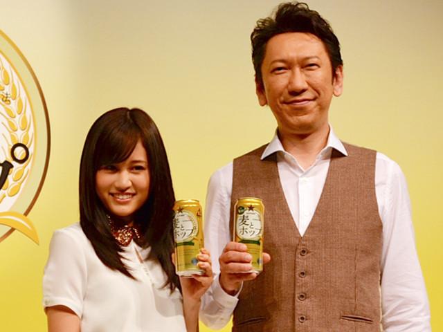 """前田敦子、""""素""""を披露した初お酒CMは「恥ずかしい」"""
