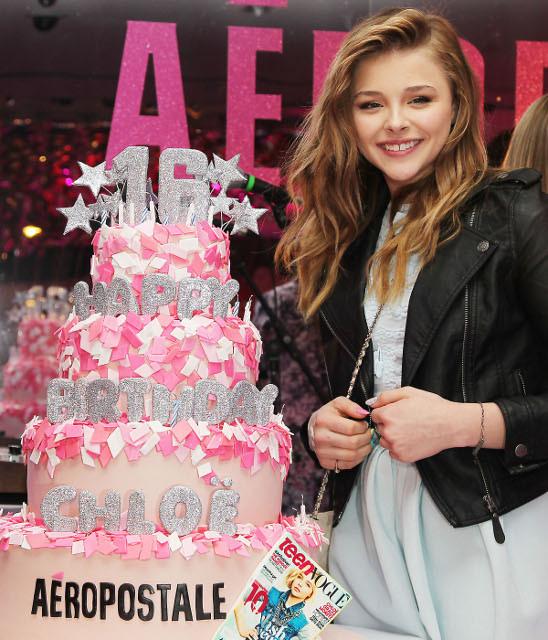 クロエ・モレッツ、16歳の誕生日パーティが盛大に開催