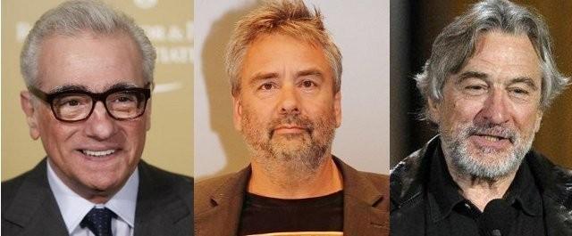 スコセッシ&ベッソン&デ・ニーロがギャング映画でコラボ