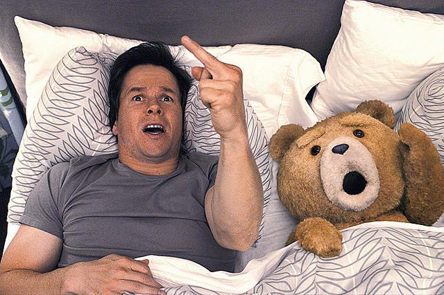 【国内映画ランキング】「テッド」無双のV4、「脳男」は2位デビュー