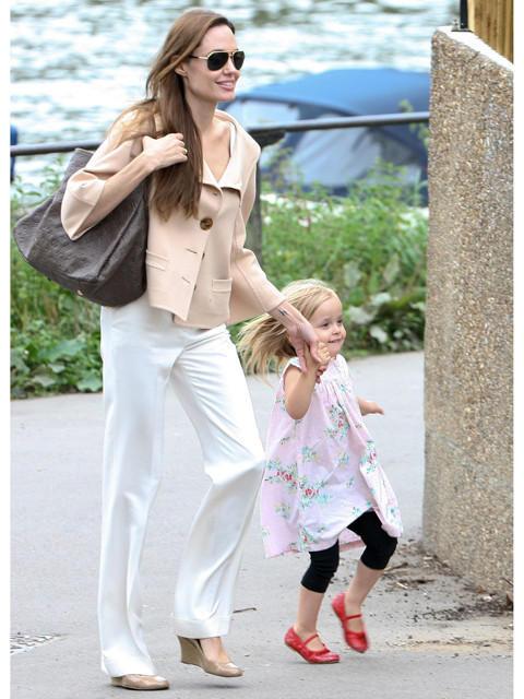 ブラピ&アンジーの娘ビビアン、初映画のギャラは週28万円