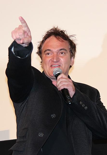 タランティーノ監督「日本はタラちゃんズホーム!」圧巻のマイクパフォーマンスも