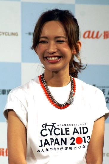 優木まおみノロケ全開、スポーツマンの婚約者「通勤は毎日自転車」