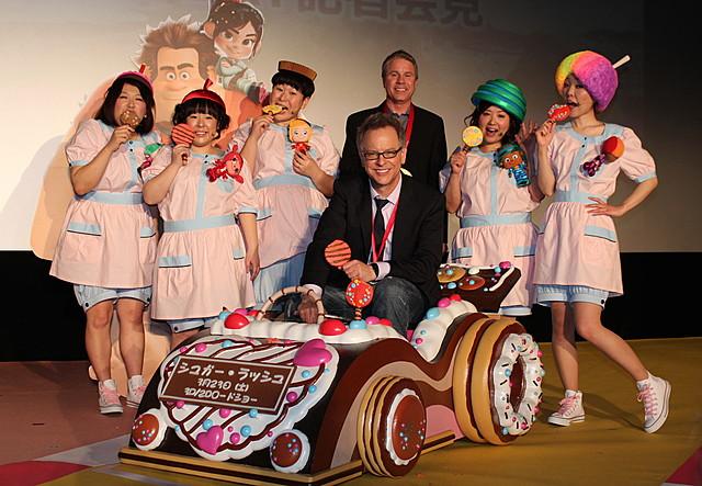 「シュガー・ラッシュ」監督、AKB48の全世界挿入歌は「映画にぴったり」