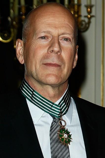 ブルース・ウィリス、仏芸術文化勲章を受章