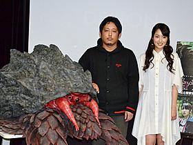 「ネオ・ウルトラQ」でタッグを組んだ入江悠監督と高梨臨「宇宙戦争」