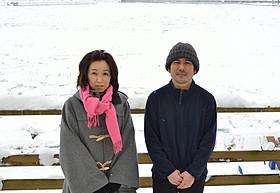 熊切和嘉監督と撮影現場を訪れた桜庭一樹氏「私の男」