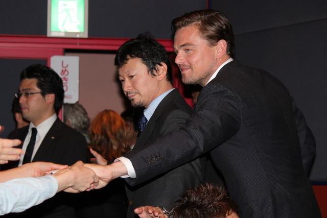"""""""レオ様""""日本で根強い人気、舞台挨拶チケットは4時間で完売"""