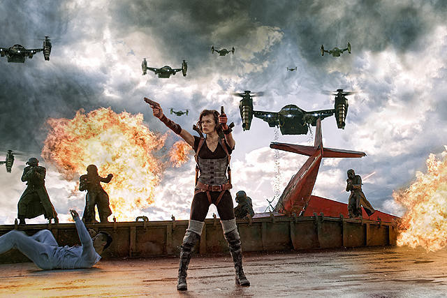ミラ・ジョボビッチ主演「バイオハザード6」は2014年9月全米公開