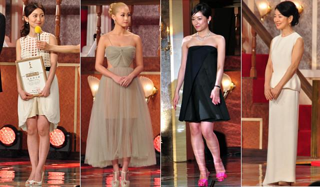日本アカデミー賞ファッションチェック!モノトーンが人気もエリカ様が異彩