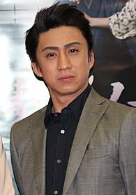 BS時代劇「妻は、くノ一」会見に臨んだ市川染五郎