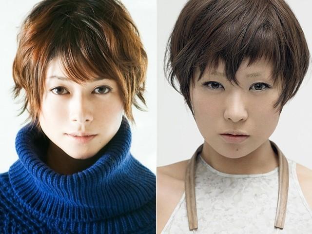 「さよなら渓谷」で主題歌を歌う真木よう子(左) と今作のために「幸先坂」を書き下ろした椎名林檎