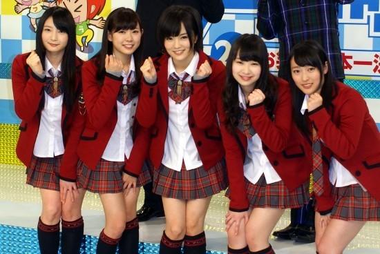 「ワラチャン!」応援サポーターを務めるNMB48