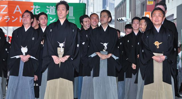 歌舞伎俳優63人の銀座練り歩きに3万2000人が歓声! - 画像8