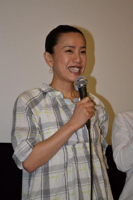 渡辺真起子、恋人と報じられた中野監督に「ムコに行けなかったら申し訳ない」