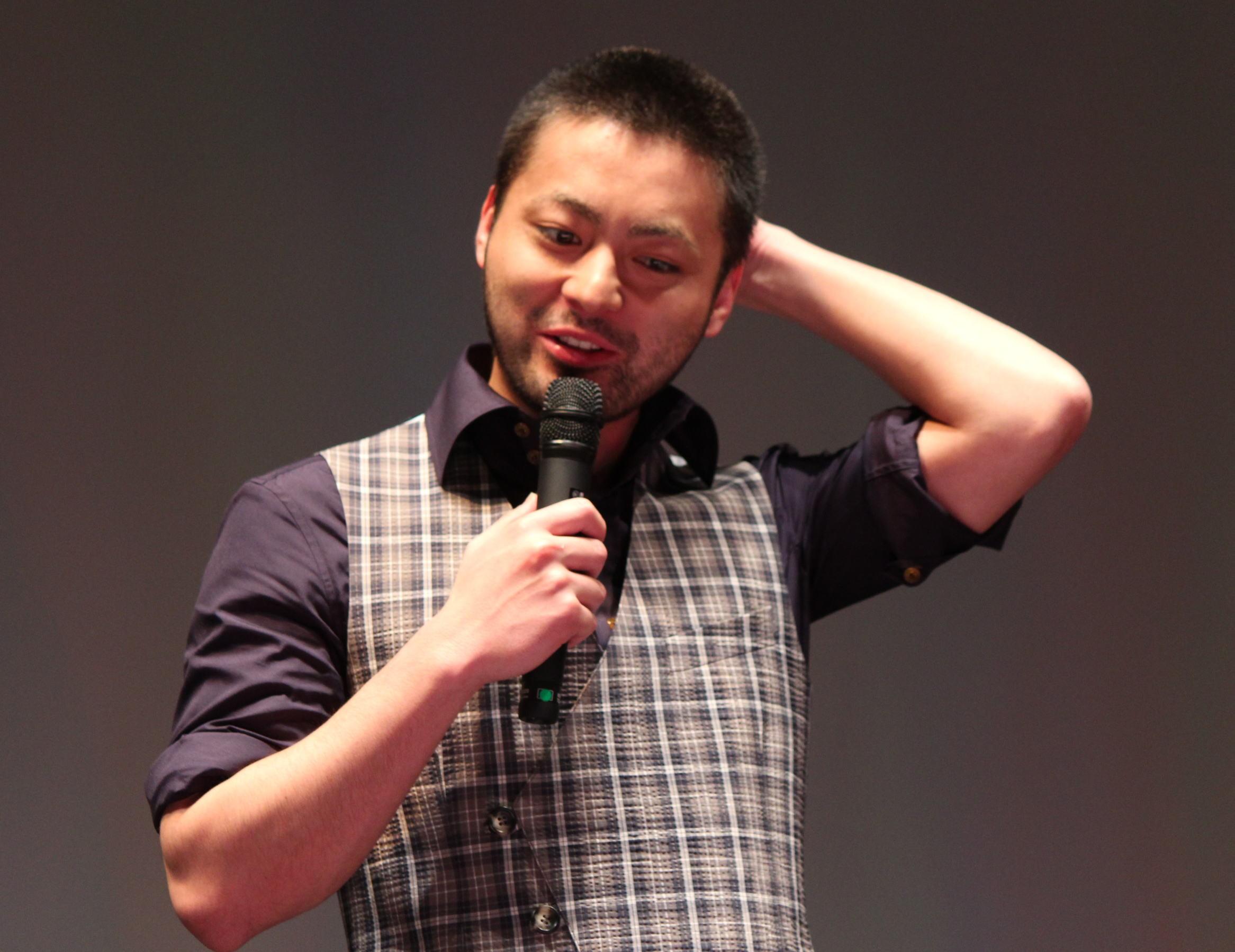 山田孝之、学生監督たちのプロ意識に感服「らくごえいが」初日挨拶