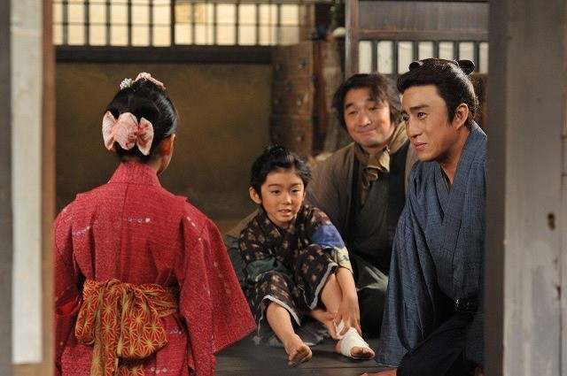 ドラマ初共演を果たす市川染五郎と松本金太郎くん