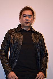 舞台挨拶に立った北村龍平監督「VERSUS」